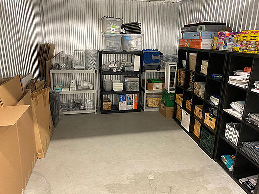group similiar items in storage unit